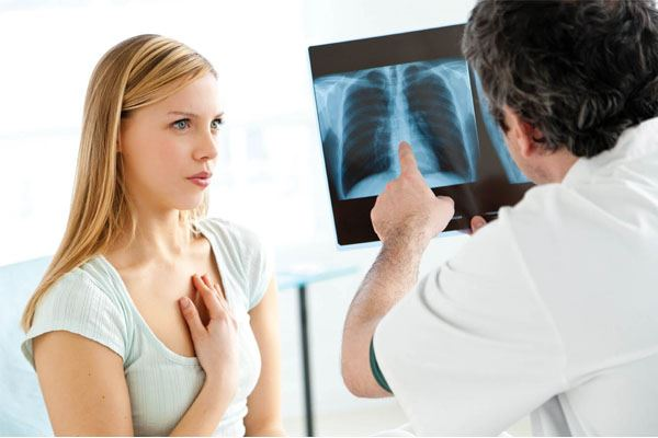 Tốt nhất là bạn nên đến gặp bác sĩ để khắc phục triệu chứng khó thở, tức ngực và điều trị chấm dứt nguyên nhân